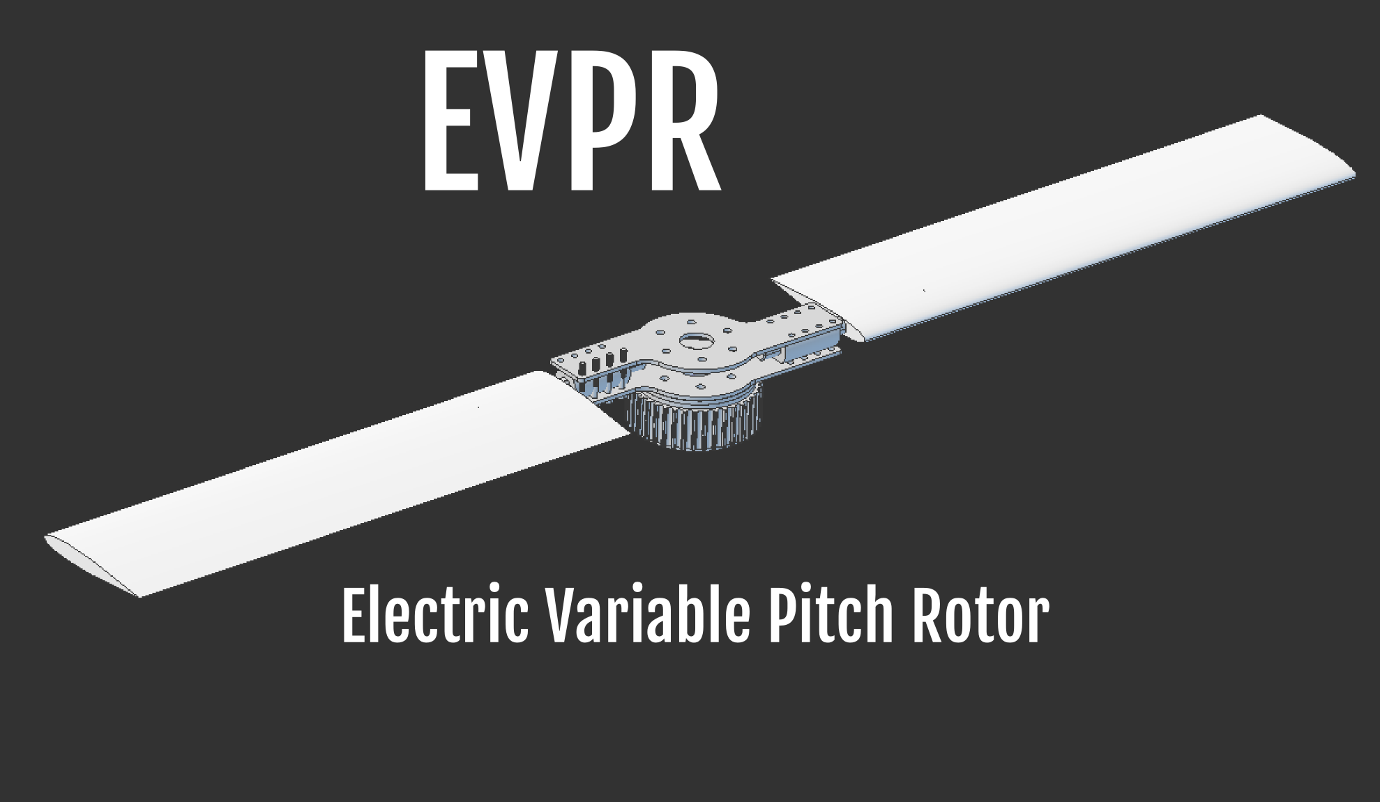 Electric Variable Pitch Propeller